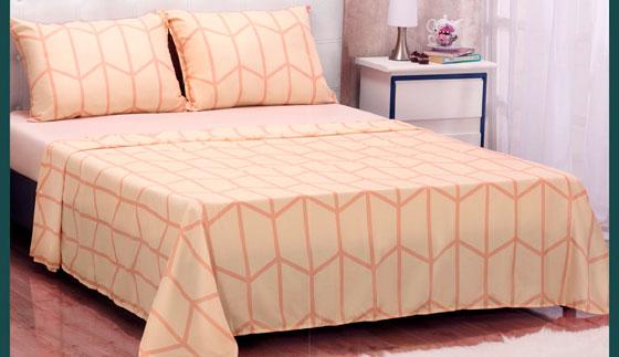 Set de sábanas tamaño matrimonial Harmony